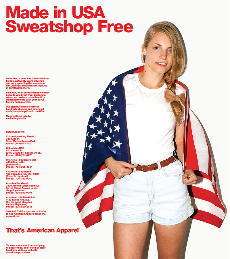 American Apparel Clothing