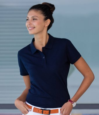 Ladies Henbury polo shirt