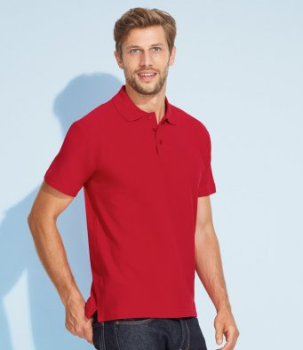mens polo shirts with printed or embroidered logos