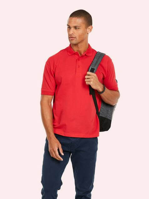Uneek cotton corporate polo shirt
